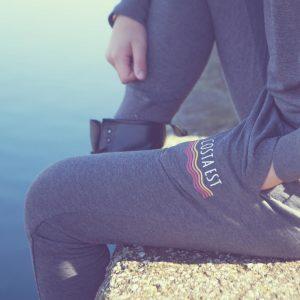 Pantaloni tuta donna grigi Costa Est
