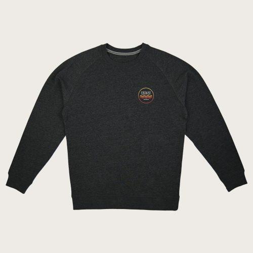 sweatshirt costa est grey front