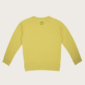 Sweatshirt mermaid yellow back